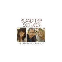 Road Trip Songs 8 Great Hits To Cruise To On Audio CD Album - $4.99
