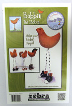 Row by Row 2015 Bobbin the Robin Official Mascot Pin Cushion Sold by the... - $9.00