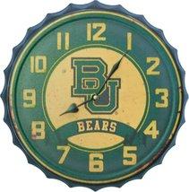 Baylor University Bottle Cap Clock - £26.23 GBP