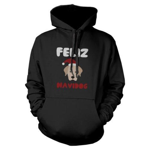 Feliz Navidog Retriever Hoodie Christmas Sweatshirt For Dog Lovers