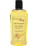 Lavender All Natural Massage Oil - $14.54+