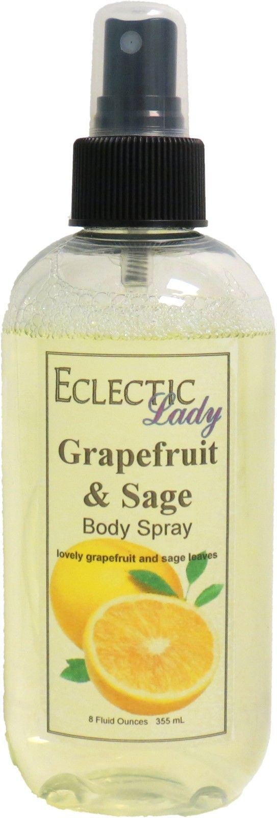 Grapefruit And Sage Body Spray