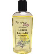 Lemon Lavender All Natural Massage Oil - $14.54+