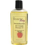 Strawberries And Cream Massage Oil - $12.60+