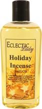 Holiday Incense Bath Oil - $12.60+