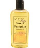 Sweet Pumpkin Massage Oil - $12.60+