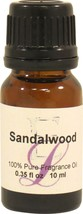 Sandalwood Fragrance Oil, 10 ml - $9.69