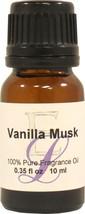 Vanilla Musk Fragrance Oil, 10 ml - $9.69