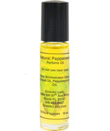 All Natural Peppermint Perfume Oil, Roll On Perfume Oil - $13.57+
