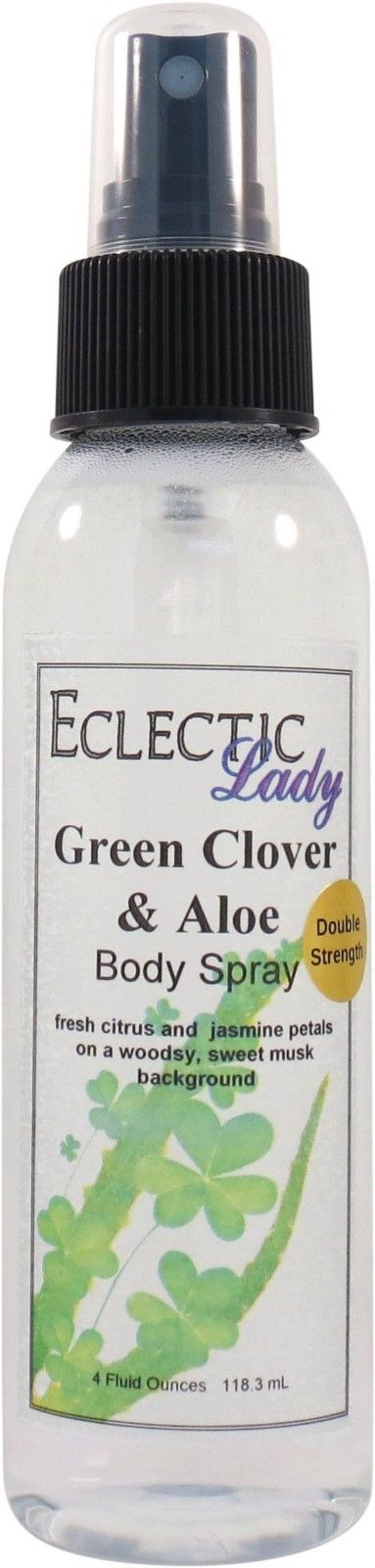 Green Clover And Aloe Body Spray