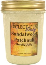 Sandalwood Patchouli Smelly Jelly, Room Air Freshener, 8 oz - $13.57