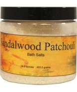 Sandalwood Patchouli Bath Salts - $12.36+