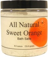 All Natural Sweet Orange Bath Salts - $13.33+