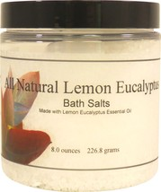 All Natural Lemon Eucalyptus Bath Salts - $13.33+