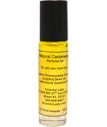 All Natural Cedarwood Perfume Oil, Roll On Perfume Oil - $13.57+