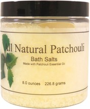 All Natural Patchouli Bath Salts - $13.33+