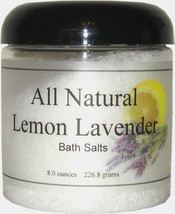 All Natural Lemon Lavender Bath Salts - $13.33+