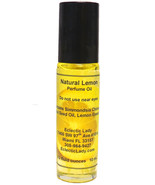 All Natural Lemon Perfume Oil, Roll On Perfume Oil - $13.57+