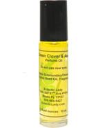 Green Clover And Aloe Perfume Oil, Roll On Perfume Oil - $11.63+
