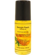 Georgia Peach Perfume Oil, Roll On Perfume Oil - $11.63+