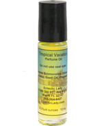 Tropical Vacation Perfume Oil, Roll On Perfume Oil - $11.63+