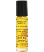 Sandalwood Perfume Oil, Roll On Perfume Oil - $11.63+