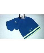 New Nike Unisex YOUTH Royal Blue Volt Winter/Running Beanie & Gloves Sz ... - $20.00