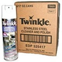 Twinkle Stainless Steel cleaner and polish (Pack of 6) - $52.00