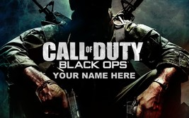 CALL OF DUTY BLACK OPS POSTER | 24 x 36 INCH | PERSONALIZED! - $18.99