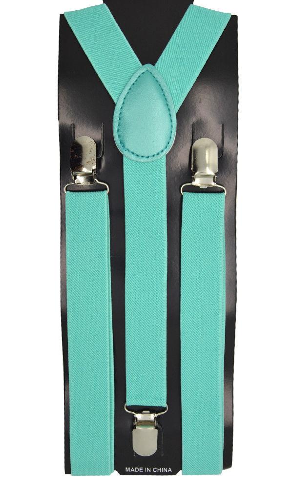 "Mens/Womens/Juniors  ""Mint"" Color Y-back Adjustable Suspender"