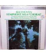 """Vintage Vinyl LP - Beethoven: Symphony No. 9 """"Choral"""" - Play-Rated! - $1.95"""