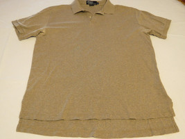 Polo by Ralph Lauren Men's short sleeve polo shirt M khaki grey hthr cot... - $49.49