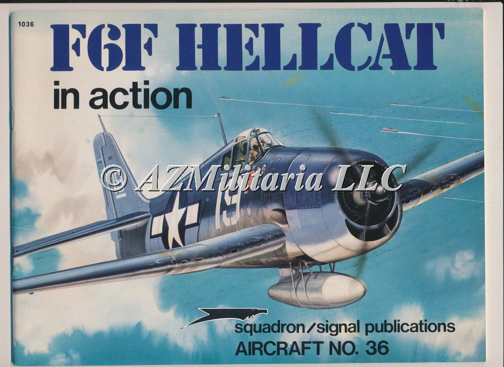 F6F Hellcat In Action Aircraft No. 36