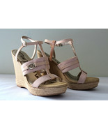 NEW Sam Edelman Platform White RASHEED Leather Strappy Slingback Sandals... - $107.91
