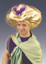 FORUM DESERT PRINCE OVERSIZED TURBAN FITS MOST MEN AND KIDS 14+ - $13.91