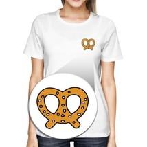 Pretzel Pocket T-shirt Back To School Tee Ladies Cute Shirt - $14.99+