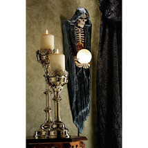Mythic Creature of the Dead Grim Reaper Skeleton Halloween Decor Wall Sc... - ₨14,717.47 INR