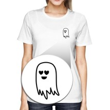 Cute Pocket Ghost T-shirt Halloween Tee Cute Shirt For Scary Night - $14.99+
