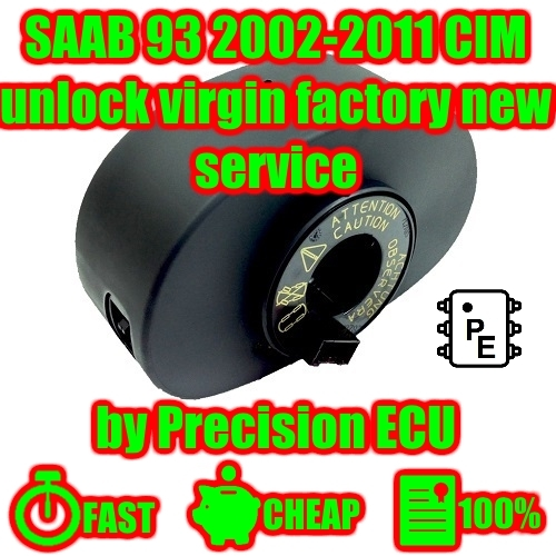 Saab 93 9-3 Factory New Reset Virginising and 49 similar items