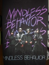 Mindless Behavior T Shirt Size XL Black by Tultex - $14.80