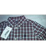 New Ralph Lauren Toddlers Boys Casual Country Plaid Shirt Sz 9M - $20.00