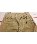 New Ralph Lauren Toddlers Boys Khaki Casual Corduroy Winter Pants Sz 12M - $20.00