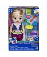 BABY ALIVE Sweet Spoonfuls Baby Doll Boy, Blonde Hair  - $65.02