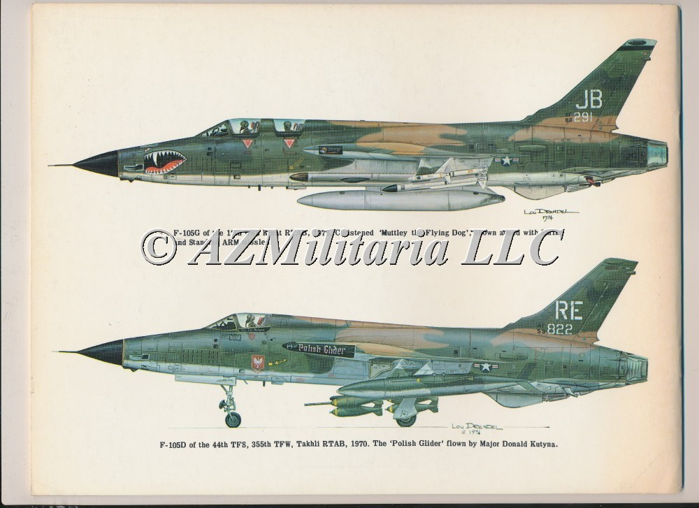 F-105 Thunderchief In Action Aircraft No. 17