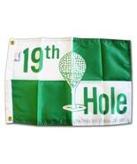 "19th Hole - 12""x18"" Nylon Flag - $13.20"