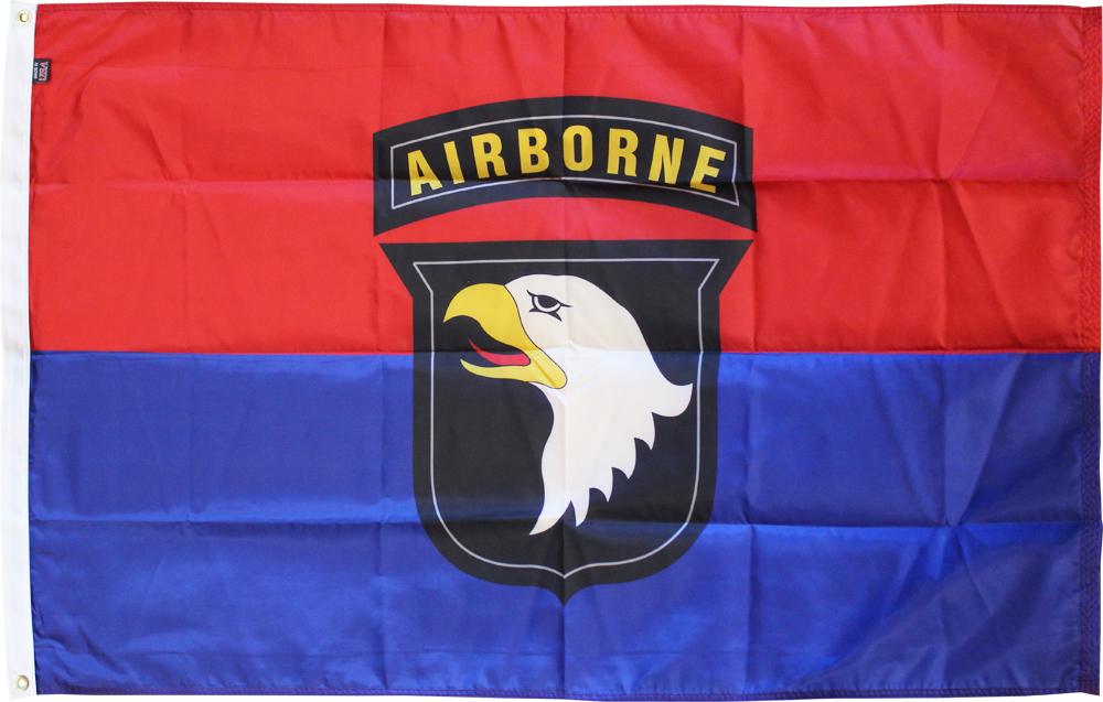 101st airborne nylon flag