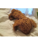 "Ty Classic 1991 RUSTY Brown Hairy 18"" Puppy Dog Toy - $4.99"