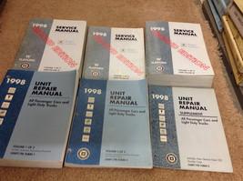 1998 Buick Century Regal 2ND EDITION Service Repair Manual Set W UNIT BO... - $70.41