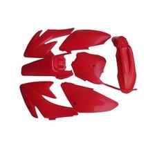 Lumix GC Red Plastic Fairing Fender Kit Panels For Honda CRF70 Dirt Pit Bikes - $47.95