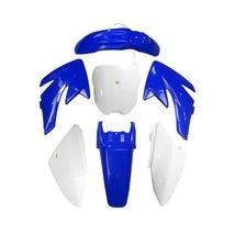 Lumix GC Blue White Plastic Fairing Fender Kit Panels For Honda CRF70 Dirt Pi... - $58.95